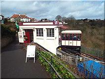 SX9265 : Babbacombe Cliff Railway, Torquay by Malc McDonald
