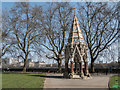 TQ3079 : Buxton Memorial Fountain, London SW1 by Christine Matthews