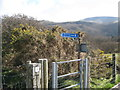 SH6214 : This gate for Arthog-Barmouth, Gwynedd by Martin Richard Phelan