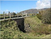 SH6214 : Bridge over untroubled water-Morfa Mawddach, Gwynedd by Martin Richard Phelan