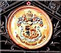 SC3875 : Douglas, Isle of Man coat of arms by Richard Hoare