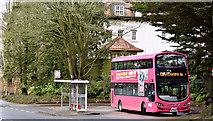 J3371 : Bus, Broomhill terminus, Belfast (April 2016) by Albert Bridge
