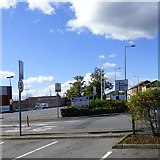 SJ9495 : Signs at former B&Q by Gerald England