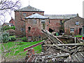NY4756 : Warwick Bridge Corn Mill by Rose and Trev Clough
