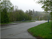 SH7118 : Junction on the A493 by Eirian Evans