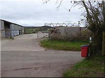 SS8302 : Farm buildings at Venn, near Sandford by David Smith