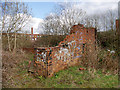 SD7907 : Remains of Former Paper Mill by David Dixon