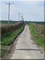TA0215 : Wold Road, near Worlaby by Paul Harrop