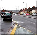 ST3090 : Cars parked on pavements, Malpas, Newport by Jaggery