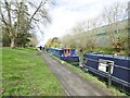 TQ2083 : Park Royal, moorings by Mike Faherty