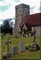 TL2100 : St Margaret's Church, Ridge by Jim Osley