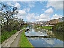 TQ2182 : Harlesden, footbridge by Mike Faherty