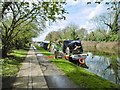 TQ2382 : Kensal Green, towpath by Mike Faherty