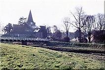 TQ5203 : Alfriston Church by Peter Jeffery