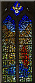 TF0543 : Stained glass window, St Denys' church, Silk Willoughby by Julian P Guffogg