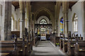 TF0543 : Interior, St Denys' church, Silk Willoughby by Julian P Guffogg