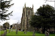 SD5095 : St. Oswald's Church Tower, Burneside by Chris Heaton