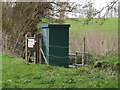 TM0856 : Gauging Station off Mill Lane by Adrian Cable