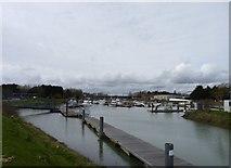 TQ0102 : Littlehampton Marina, West Sussex by Jeff Gogarty
