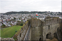SS6188 : Gatehouse of Oystermouth Castle by Bill Boaden