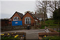 SJ6625 : Former School & School House, Childs Ercall by Ian S