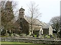 NY9913 : St Giles' church, Bowes by David Purchase
