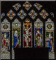 TF0471 : East window, St Clement's church, Fiskerton by Julian P Guffogg