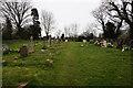 SJ6428 : Stoke on Tern Cemetery by Ian S
