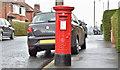 J3370 : Pillar box BT9 670, Stranmillis, Belfast (April 2016) by Albert Bridge