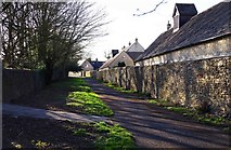 SP3509 : Farm Mill Lane, Witney, Oxon by P L Chadwick