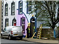H4572 : Street refurbishment, Campsie Road, Omagh by Kenneth  Allen