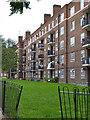 TQ3277 : Rear of Marvell House flats, Camberwell by Robin Stott