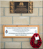 NM8529 : Memorials - CalMac terminal - Oban by The Carlisle Kid