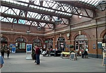 SP0786 : Interior Moor Street station, Birmingham by Chris Morgan