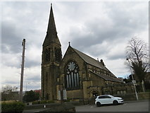 SE1735 : The Church of St James in Bolton, Bradford by Peter Wood