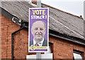 J3471 : Assembly election poster, Sunnyside Street, Belfast (April 2016) by Albert Bridge