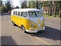 TQ6240 : Classic 1966 Volkswagen Camper, High Street, Pembury by Chris Whippet