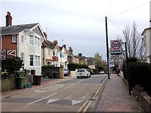 TQ5839 : Claremont Road, Tunbridge Wells by Chris Whippet