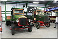 SK2406 : Statfold Barn Railway - two historic trucks by Chris Allen