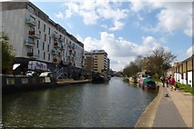 TQ3283 : Canal near Bridport Place by DS Pugh