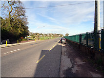 W7773 : The road east from Glounthaune to Carrigtohill by John Lucas