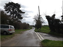 TM1453 : Bull's Road, Hemingstone by Adrian Cable