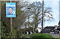 J5078 : Assembly election poster, Conlig - April 2016(1) by Albert Bridge