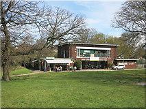 TQ2688 : Lyttelton Playing Fields Pavilion by Des Blenkinsopp