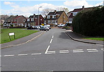 ST3090 : Junction of Alder Grove and Rowan Way, Malpas, Newport by Jaggery