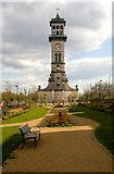 TQ3084 : Clock Tower, Caledonian Park by Jim Osley