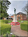SO0661 : War Memorial and Memorial Gardens, Llandrindod Wells by David Dixon