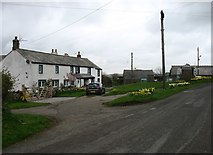 NY1539 : Threapland village by David Purchase