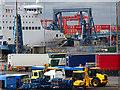 O2034 : Dublin Port scene by John Lucas