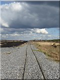 N1722 : Peatland light railway at Turraun by Oliver Dixon